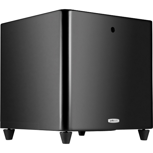 10 black 200W DSWPRO Series powered subwoofer