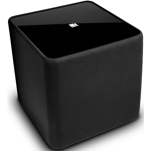 10 black 200W powered subwoofer