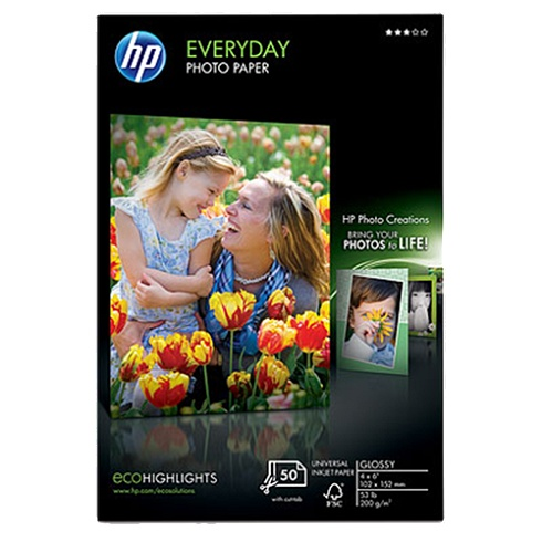 HP 4 x 6 EVERYDAY PHOTO PAPER