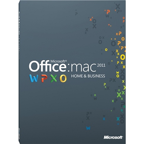 Microsoft Office for Mac 2011 Home and Business Edition