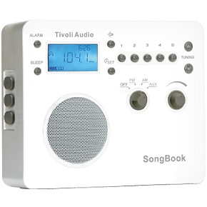 Tivoli SBWHT Songbook Travel Radio In White