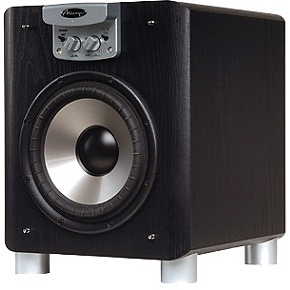 Mirage Omni S8Black 8-Inch Powered Subwoofer