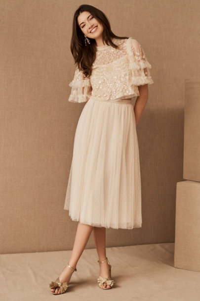 View larger image of Needle & Thread Aurelia Top & Kisses Tulle Skirt