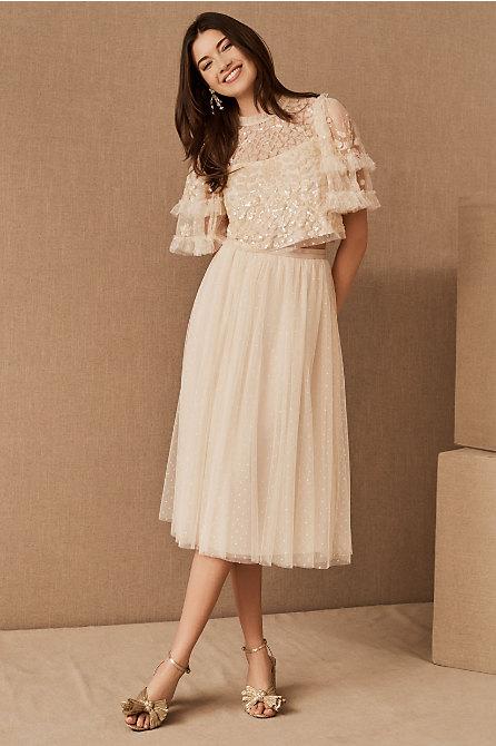 Needle & Thread Aurelia Top & Kisses Tulle Skirt
