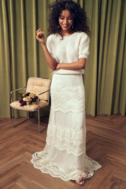View larger image of marryandbride Together Forever Sweater & Catherine Deane Corello Skirt