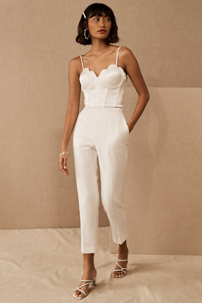 View larger image of Catherine Deane Tahlita Top & The Tailory New York x BHLDN Westlake Suit Pant
