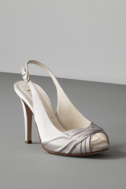 Something Bleu Steel Threshold Slingbacks | BHLDN