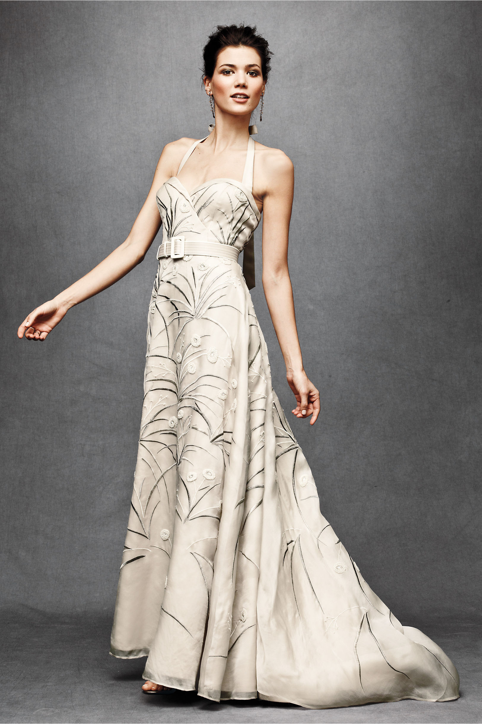 Trumpeted Pavot Gown in Bride   BHLDN