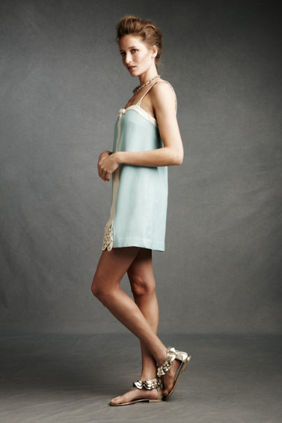 Light Blue With a Kiss Shift | BHLDN