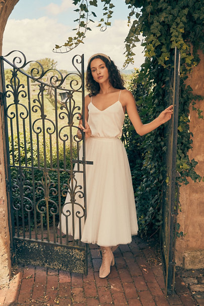 View larger image of Catherine Deane Mia Cami & Nouvelle Amsale Nandita Skirt