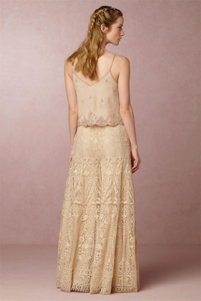 Carrie Top Carter Palazzo Pants In Bride Bhldn