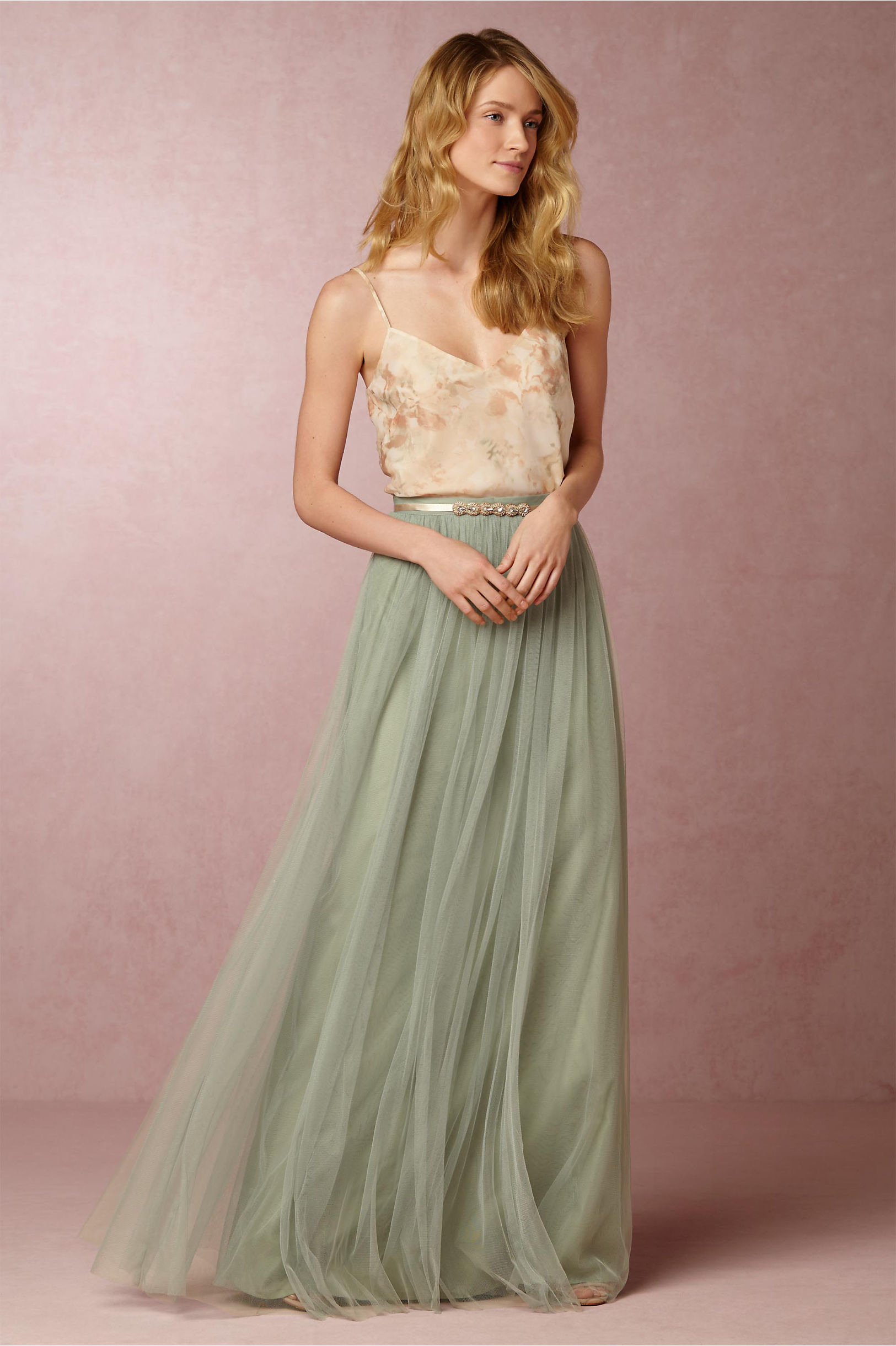 47f24fdc51 Liv Cami & Louise Tulle Skirt in Bridesmaids & Bridal Party | BHLDN