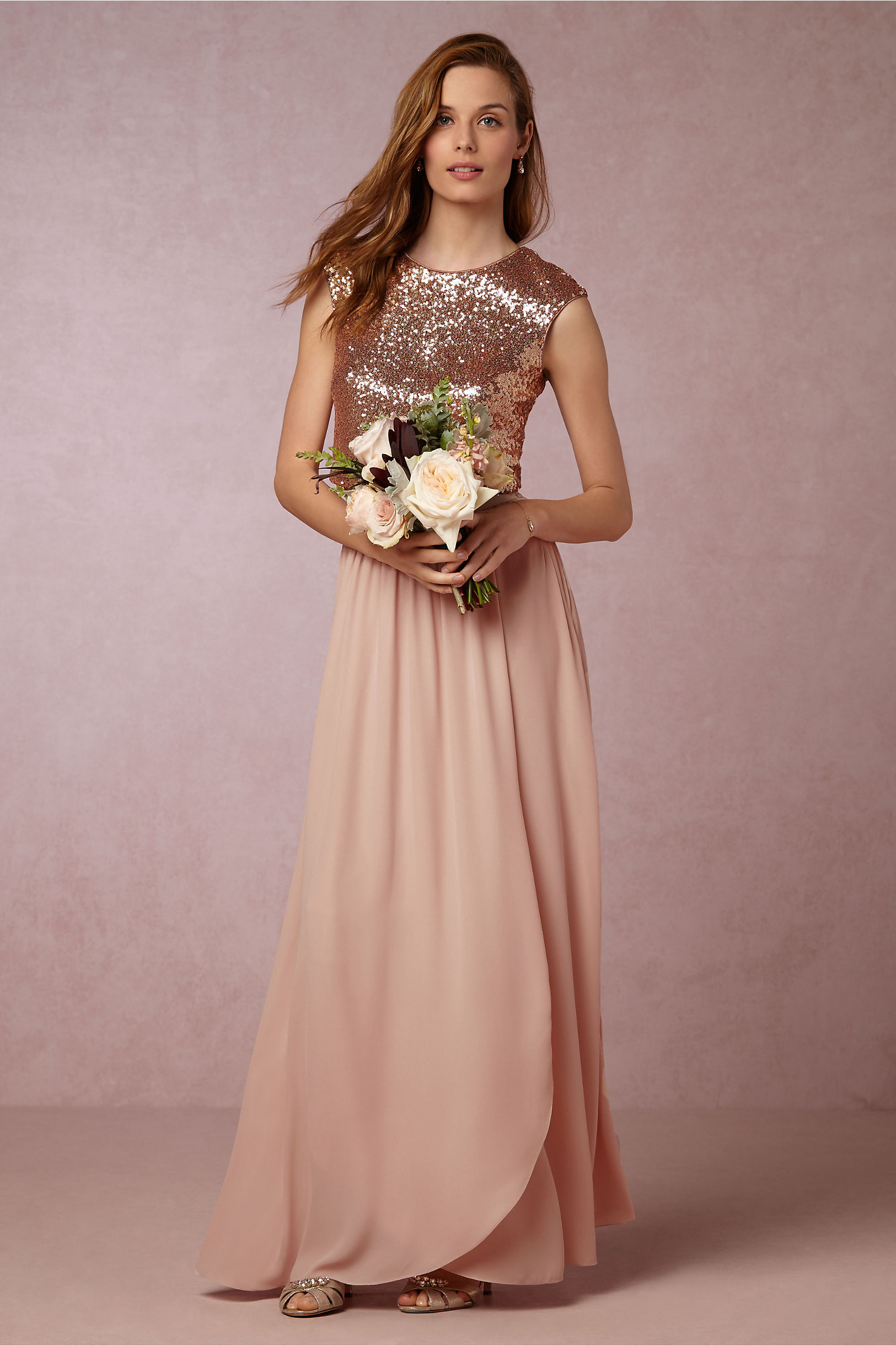 Kaity Top & Jane Skirt in Bridesmaids & Bridal Party | BHLDN