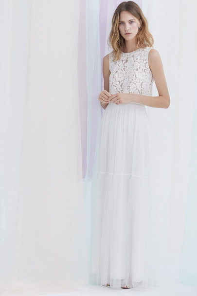 Cleo Top & Blythe Skirt | BHLDN