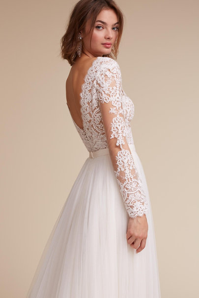 Rhea Bodysuit & Amora Skirt | BHLDN