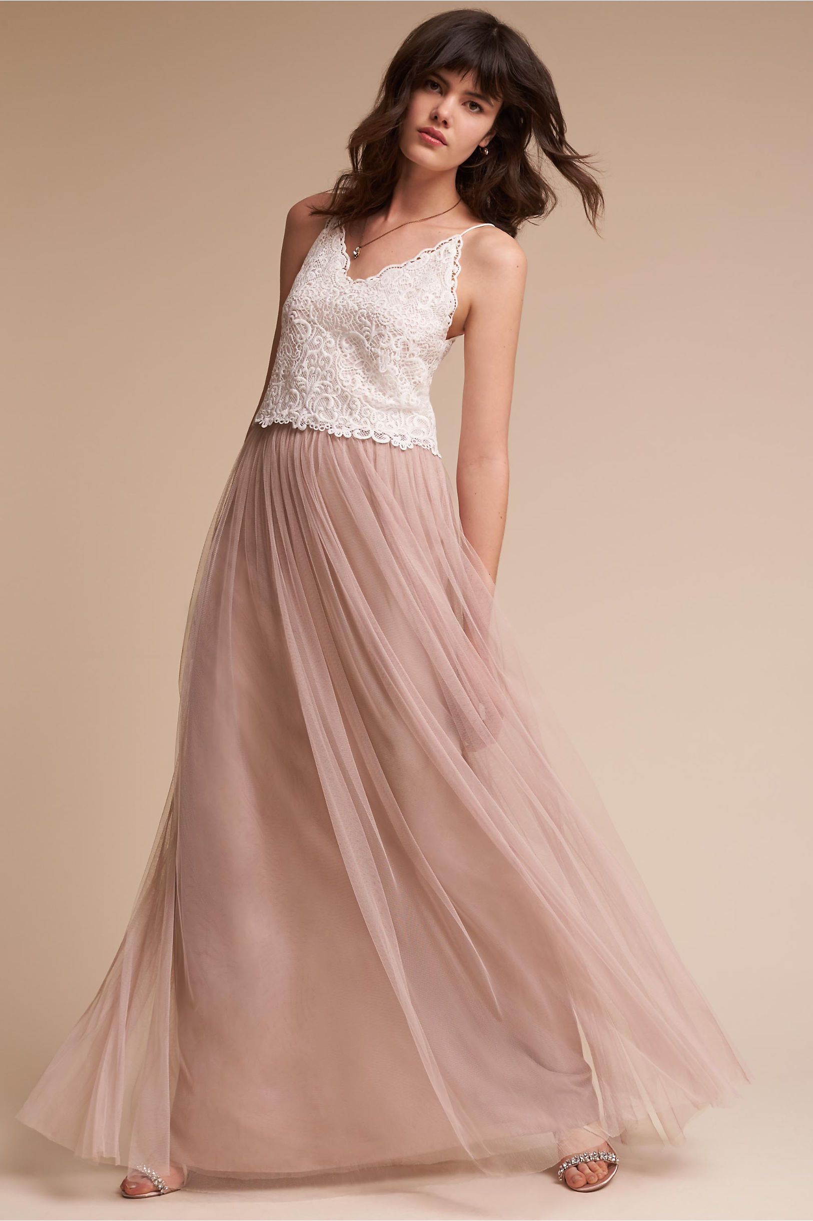 2a0ceea88f Nina Top & Louise Tulle Skirt in Bridesmaids & Bridal Party | BHLDN