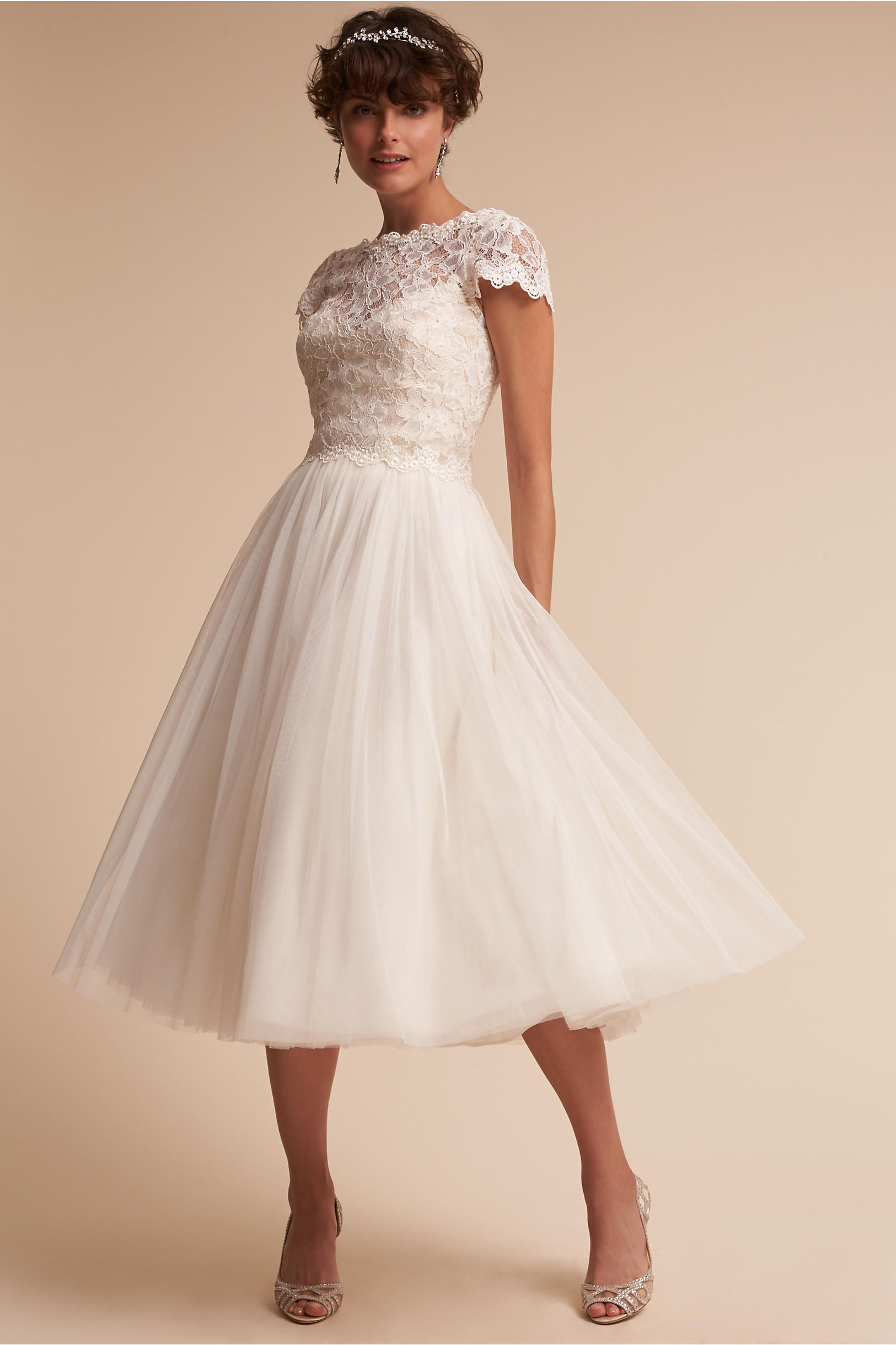 Vintage Inspired Wedding Dress | Vintage Style Wedding Dresses Sydney Top & Marcie Skirt  AT vintagedancer.com