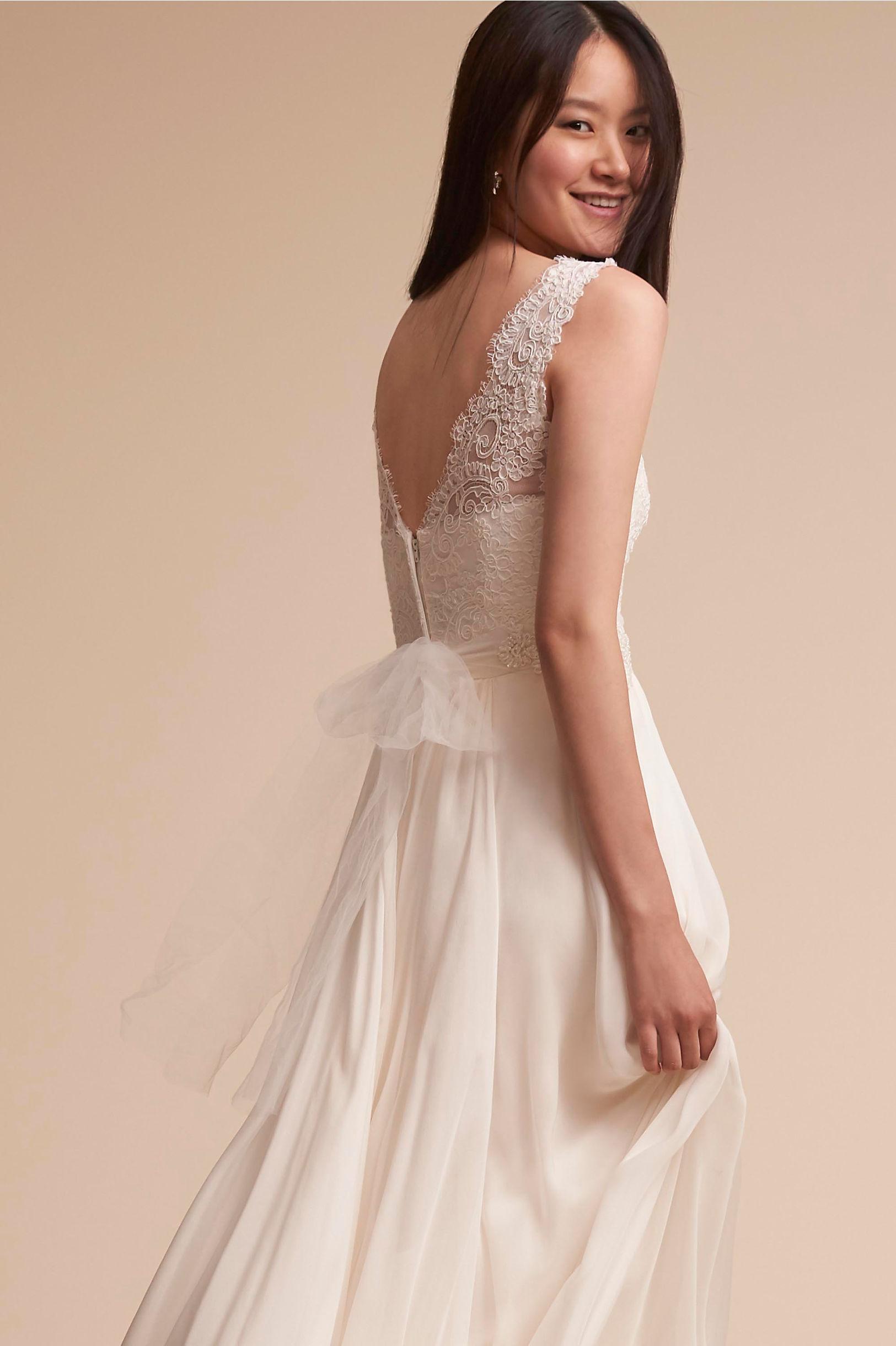 Pirouette Corset Top & Delia Maxi Skirt in Bride | BHLDN