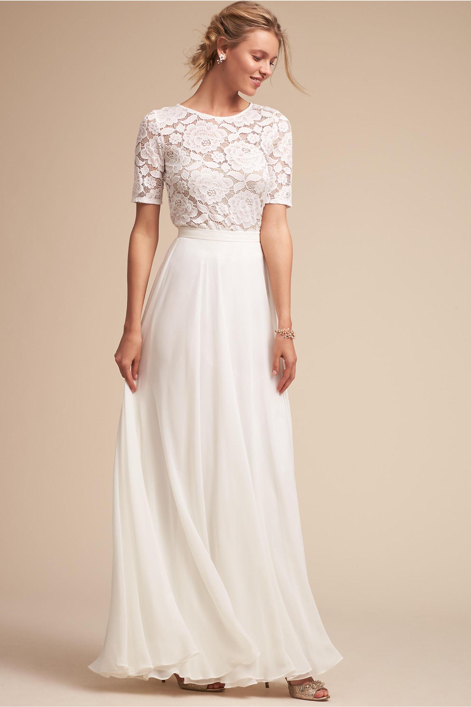 Lace bridesmaid dresses long short styles bhldn jive top hampton skirt ombrellifo Choice Image