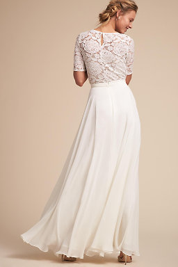 Wedding dress separates two piece bridal gowns bhldn jive top hampton skirt junglespirit Gallery