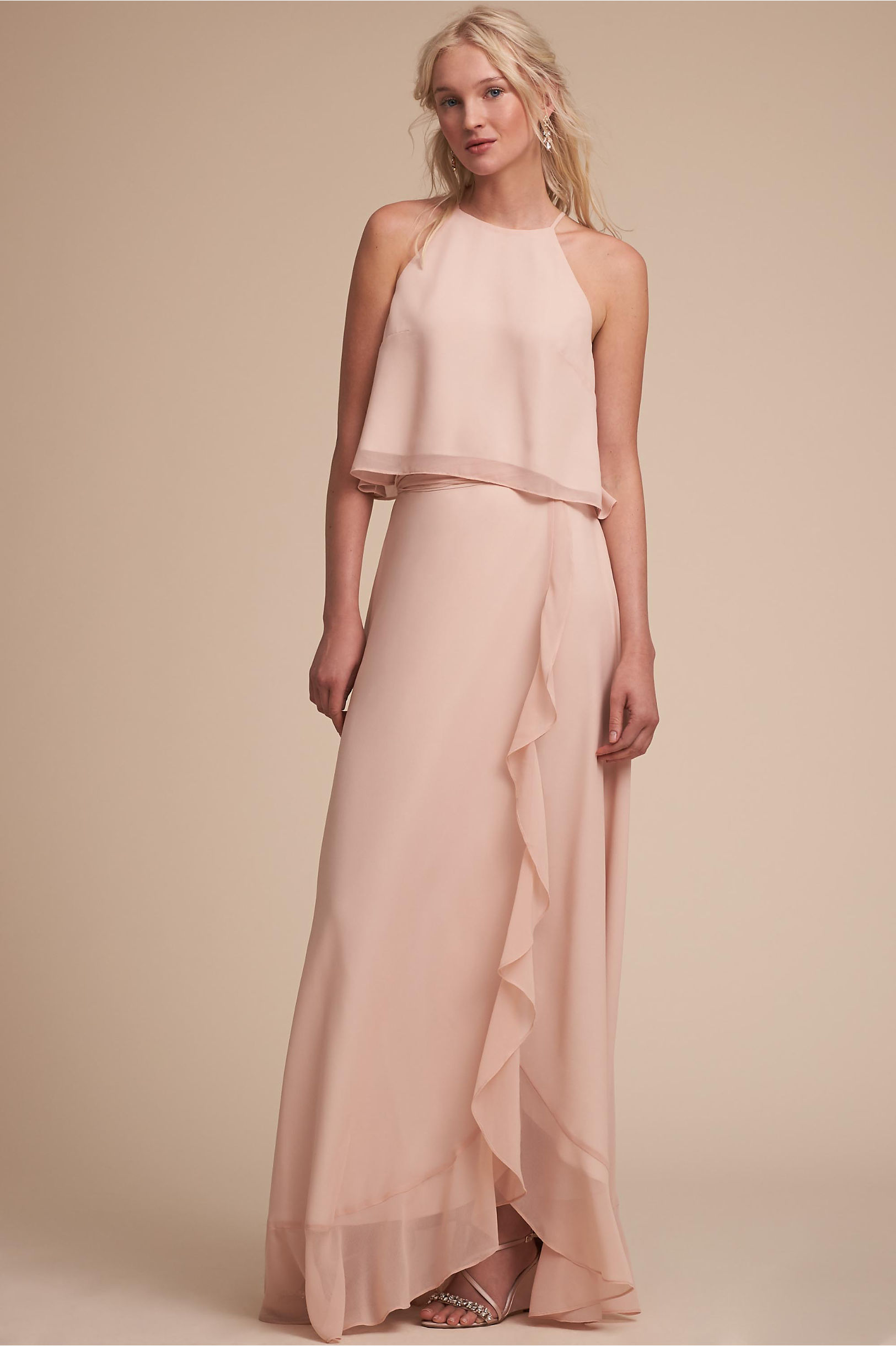 Two piece bridesmaid dresses separates bhldn etoile top skirt ombrellifo Images