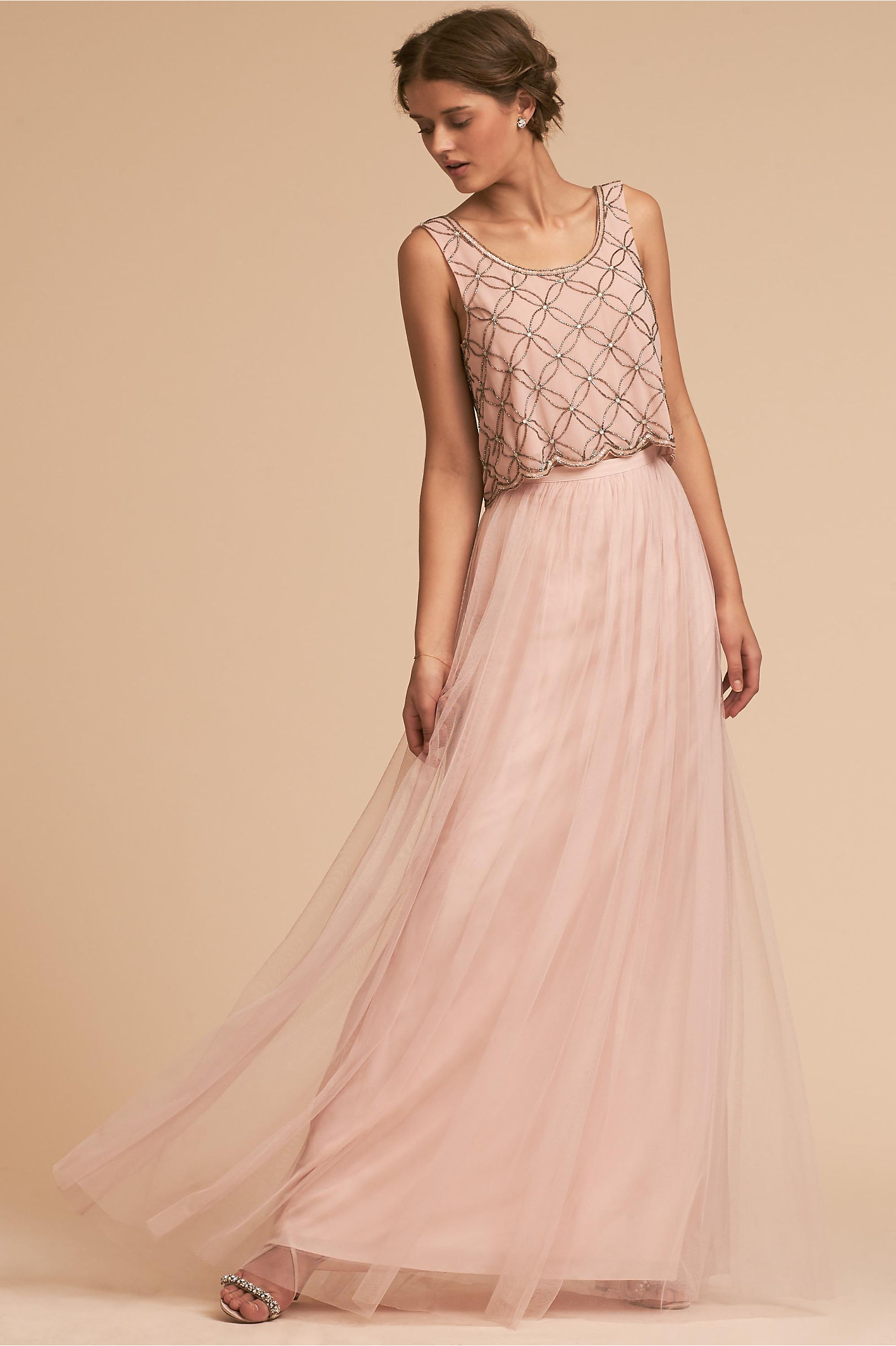 172c0bbaba Milo Top & Louise Tulle Skirt in Bridesmaids & Bridal Party | BHLDN