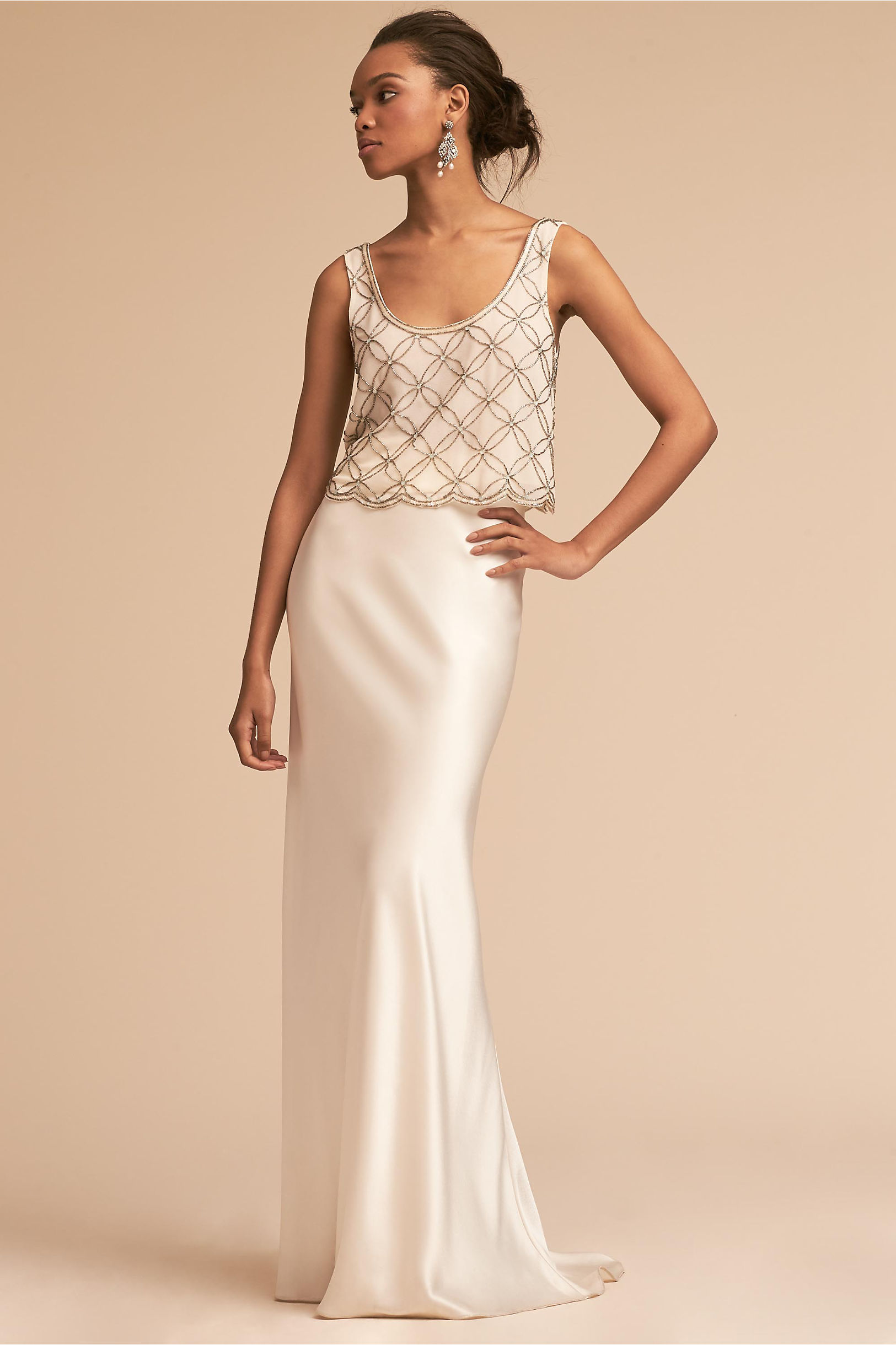 New bhldn wedding dress trends shoes accessories bhldn milo top mae skirt ombrellifo Images