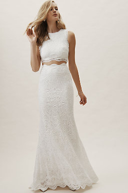 Wedding Dress Separates Two Piece Bridal Gowns Bhldn