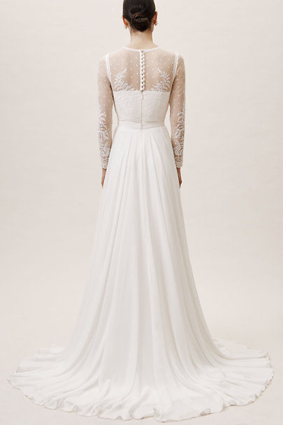 Leanna Bodysuit & Atwell Skirt | BHLDN