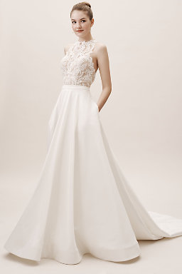 bd614b19c7066 Backless Wedding Dresses & Low Back Wedding Gowns | BHLDN