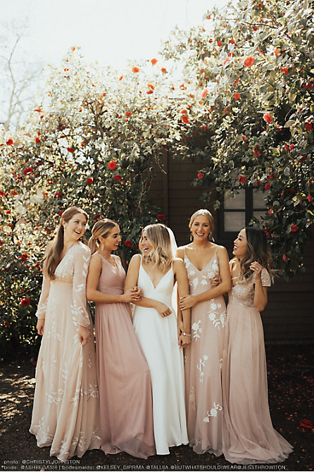 Build Your Bridal Party: Blush Palette