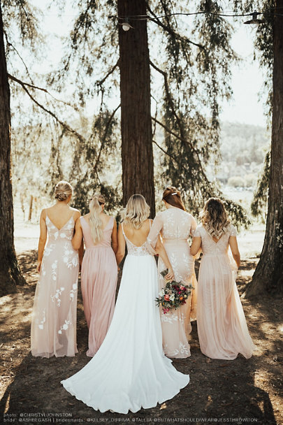View larger image of Build Your Bridal Party: Blush Palette