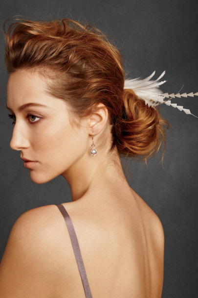 View larger image of Deco Feather Clip
