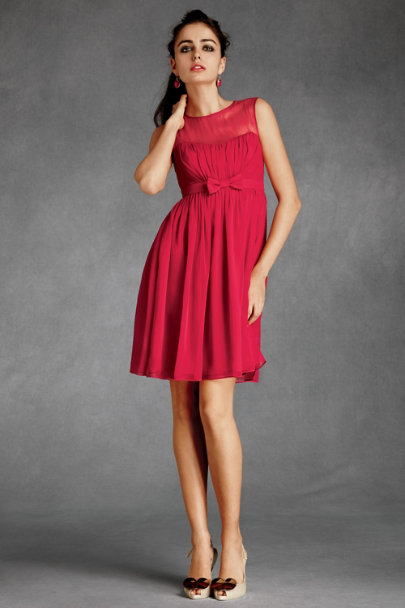 essere Raspberry Savoy Dress | BHLDN