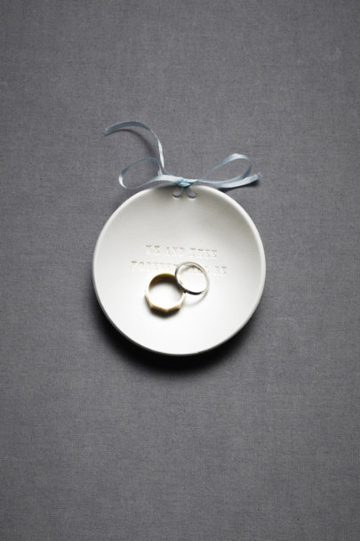 Cream Ring Bearer Bowl™ | BHLDN