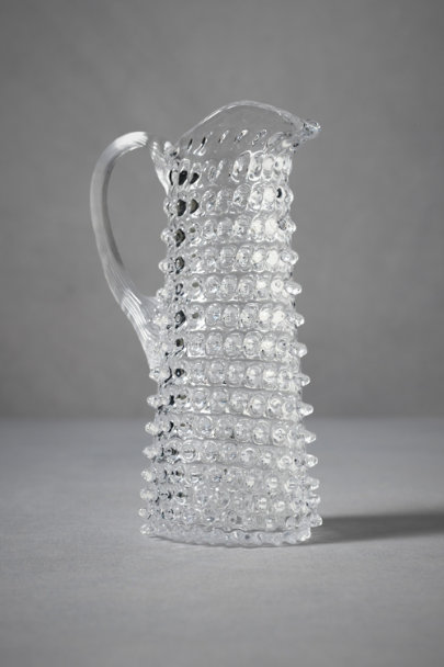 Clear Tackety Pitcher, Narrow | BHLDN