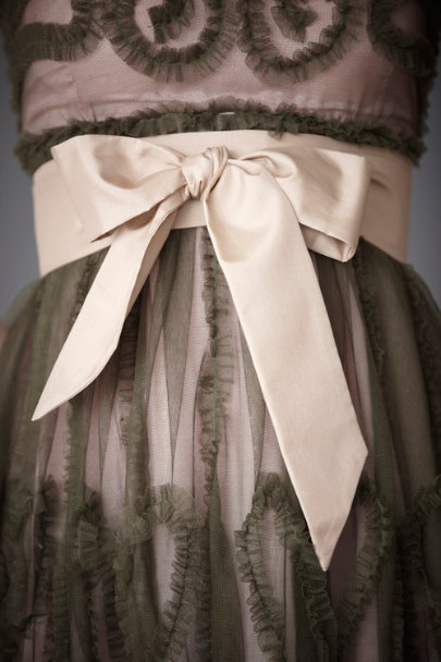 Rose Simply Silk Sash | BHLDN