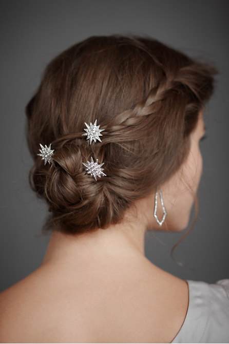 Compass Rose Hairpins