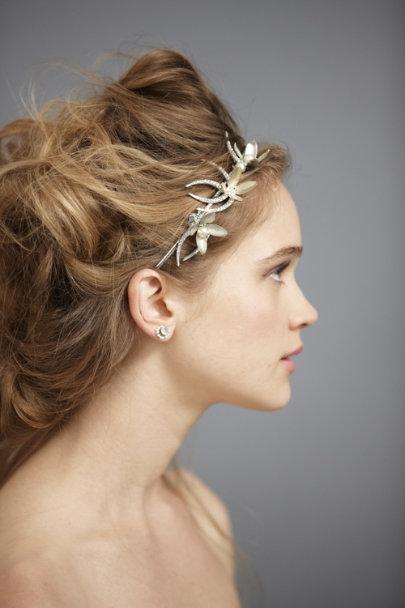 ... Paris by Debra Moreland Silver Olive Branch Headband  bcf6a598c5f