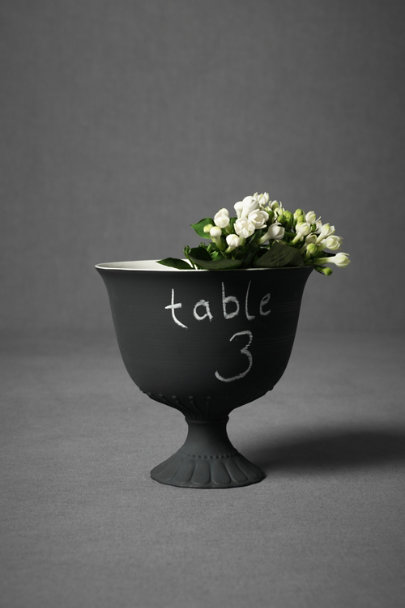Black Chalkboard Vase | BHLDN