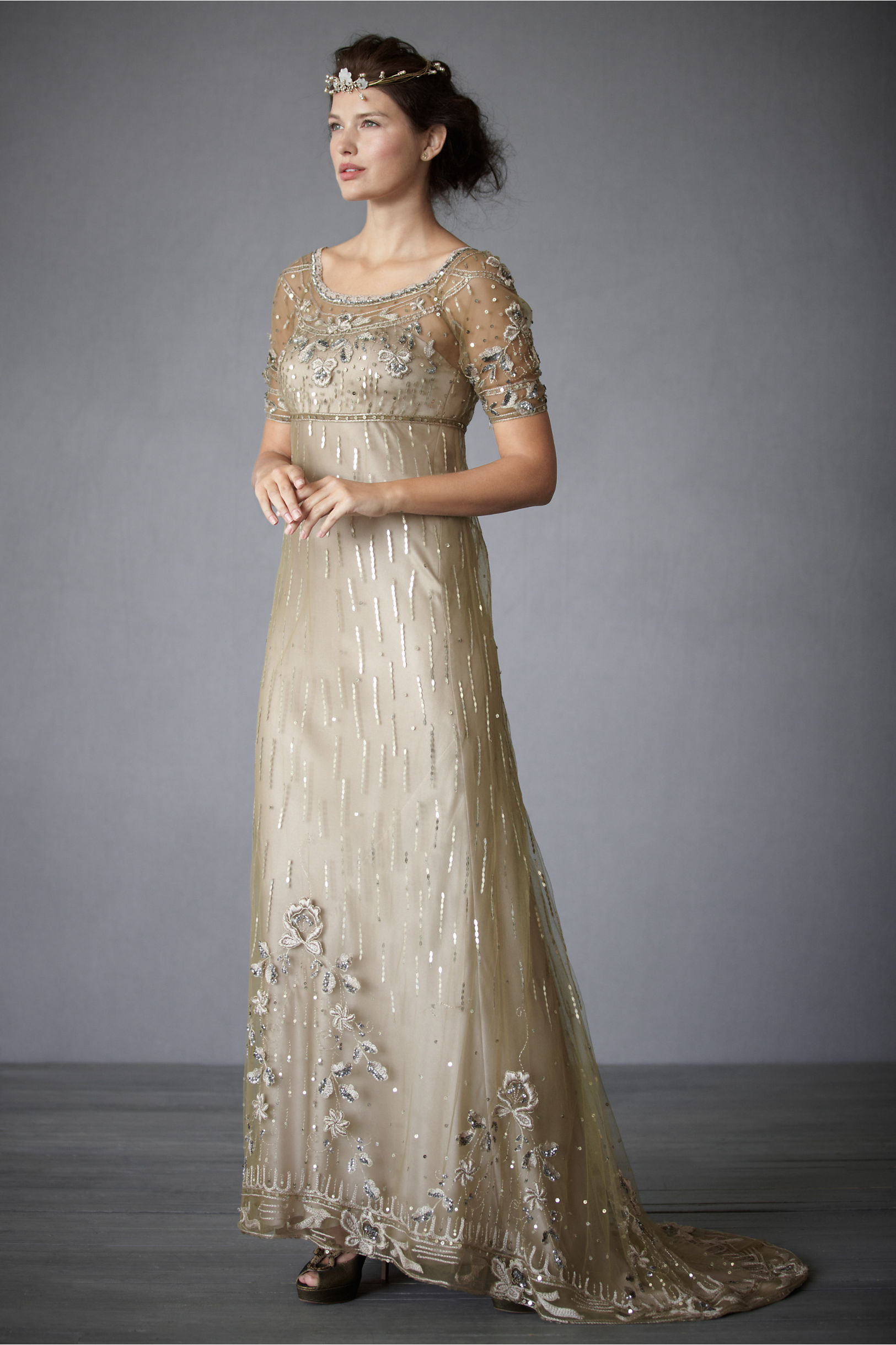 Vintage Fairy Song Gown Bhldn