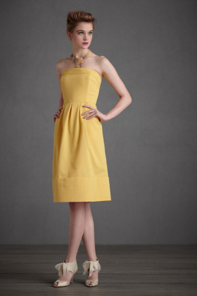 Gold Vox Populi Dress | BHLDN