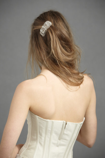 Jennifer Behr Crystal Tidal Pool Hairclip | BHLDN