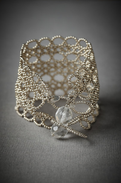 Silver Lattice Bracelet | BHLDN