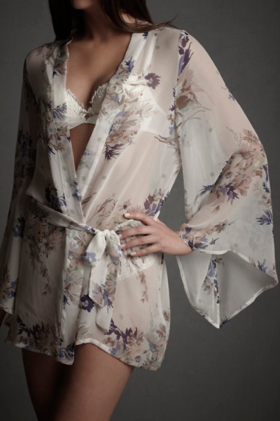Bloom Grasslands Robe | BHLDN