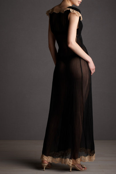black motif Into-the-Evening Peignoir | BHLDN