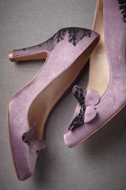 Lilac Purple Emperor Heels | BHLDN