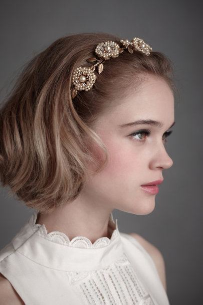 Debra Moreland Pearl Regal Promenade Headband | BHLDN