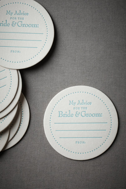 Blue Two Cents Coasters | BHLDN