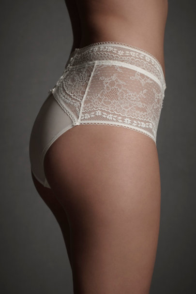 Ivory Filigreed Finery Knickers | BHLDN
